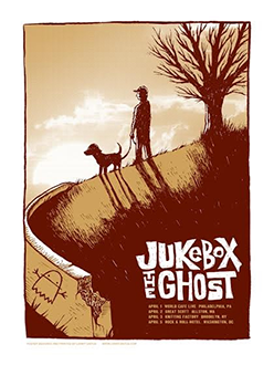 Jukebox The Ghost East Coast Tour Poster